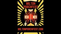 Milton Porchfest logo