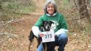 Interfaith Social Services' New Directions Counseling Center therapist Barbara Goodman took part in the 2021 Stop the Stigma Virtual 5K with her dog. Proceeds from the race will allow therapists such as Goodman to provide more than 2,500 counseling sessions for those in need.