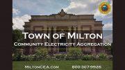 Milton Community Electricity Aggregation Program