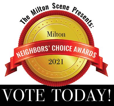 Milton Neighbors Choice Awards vote today 2021