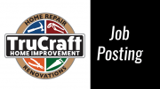 Job Posting: Trucraft seeking full time apprentice carpenter/laborer
