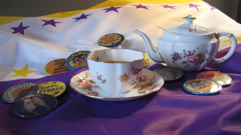 Suffrage Tea: Fashion for the Fight at the Eustis Estate