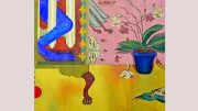 Milton Art Center story - adult painting