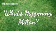 What's Happening Milton - weekly update of events in Milton, MA